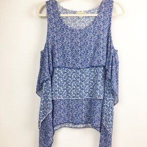 Tops - Live and Let Live Sleeveless Tunic